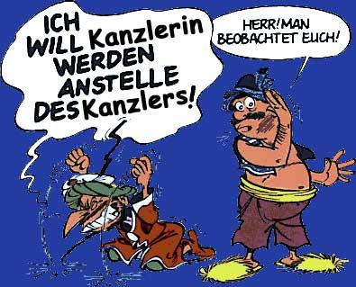 Merkel - Symbolbild
