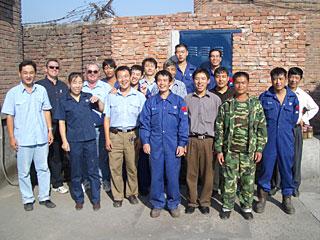 Gruppenfoto von Wei-Ha