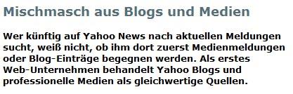 Blogs sind keine Medien